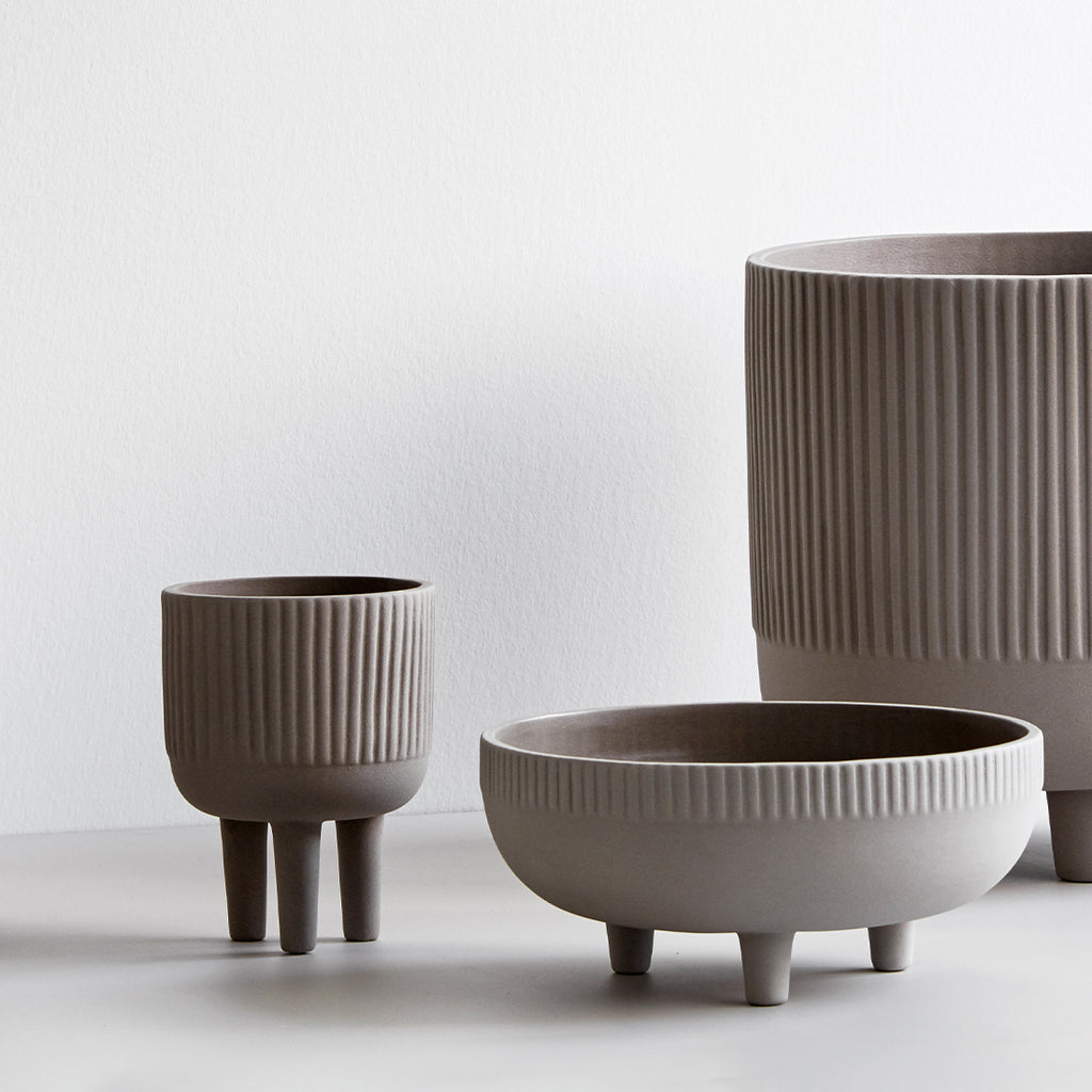 Bowl terracotta in small and medium size by Kristina Dam Studio