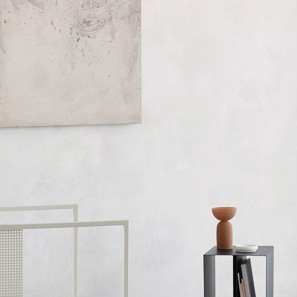 dual vase in ocher online at Kristina Dam studio