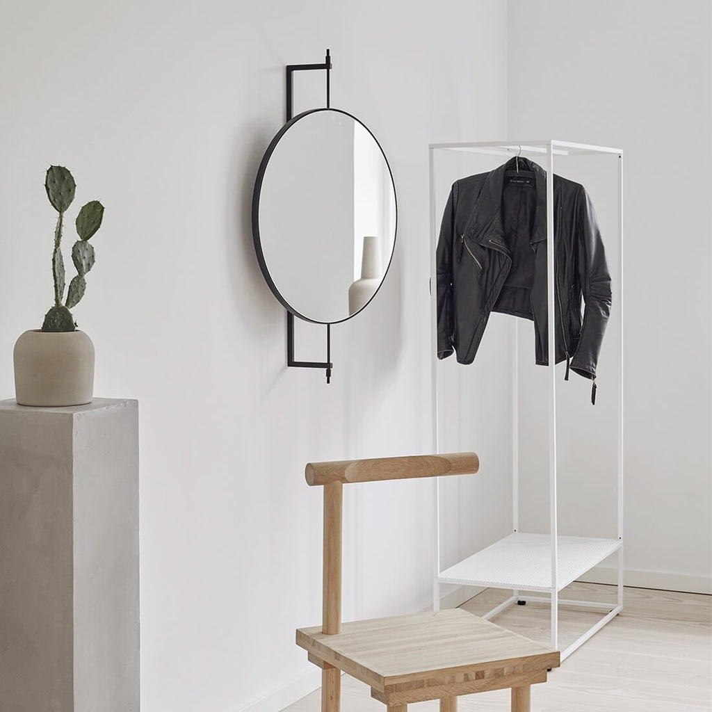 white clothes storage rack clothes stand steel danish shop online