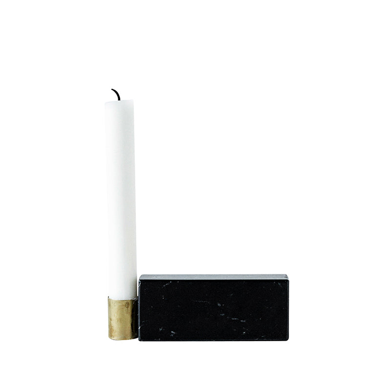 danish design candlestick square candle holder kristina dam