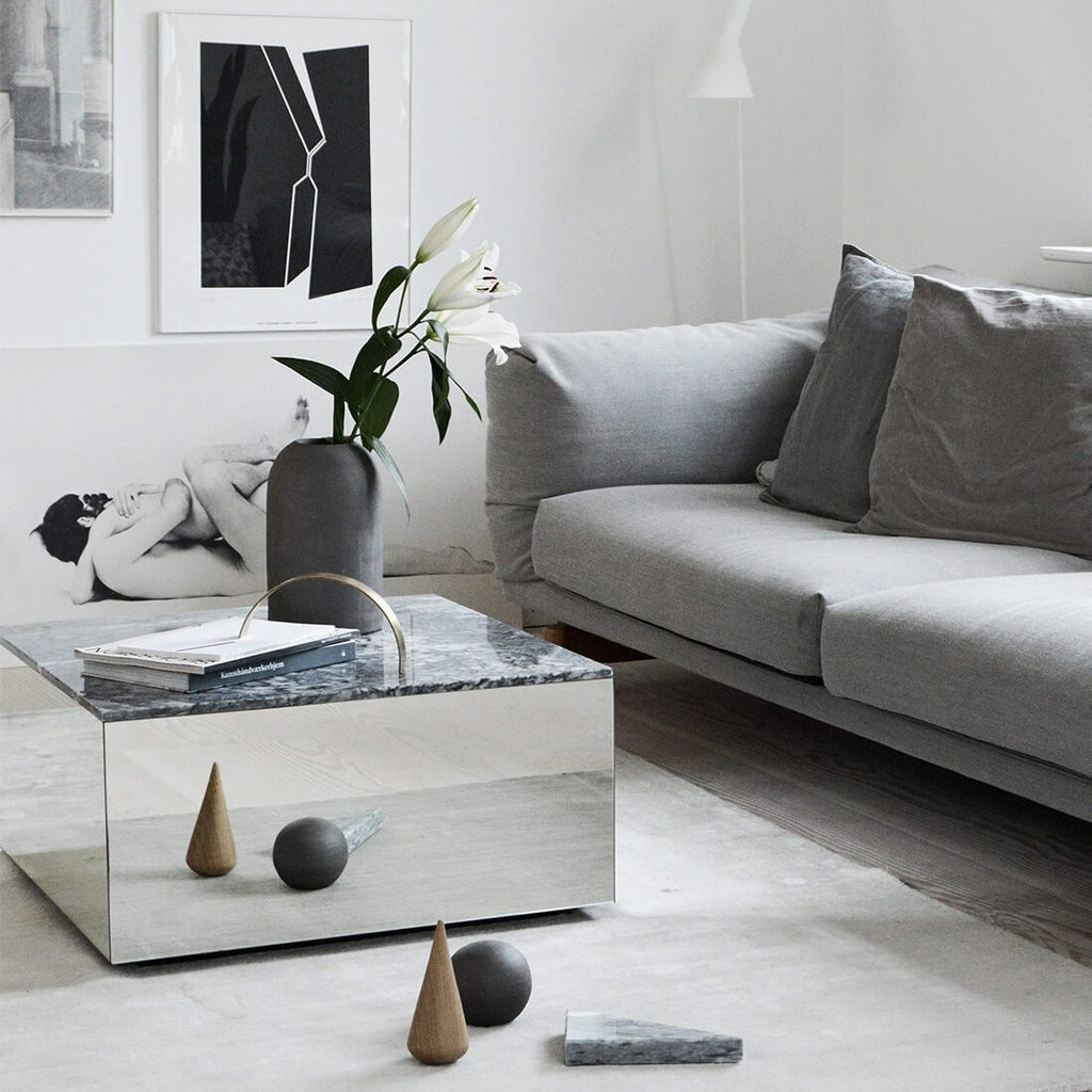 minimalistic livingroom coffee table kristina dam studio