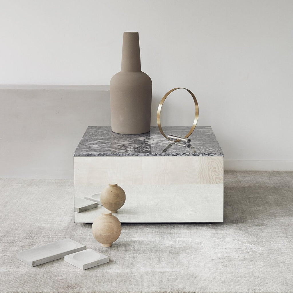 scandinavian design marble coffee table kristina dam studio