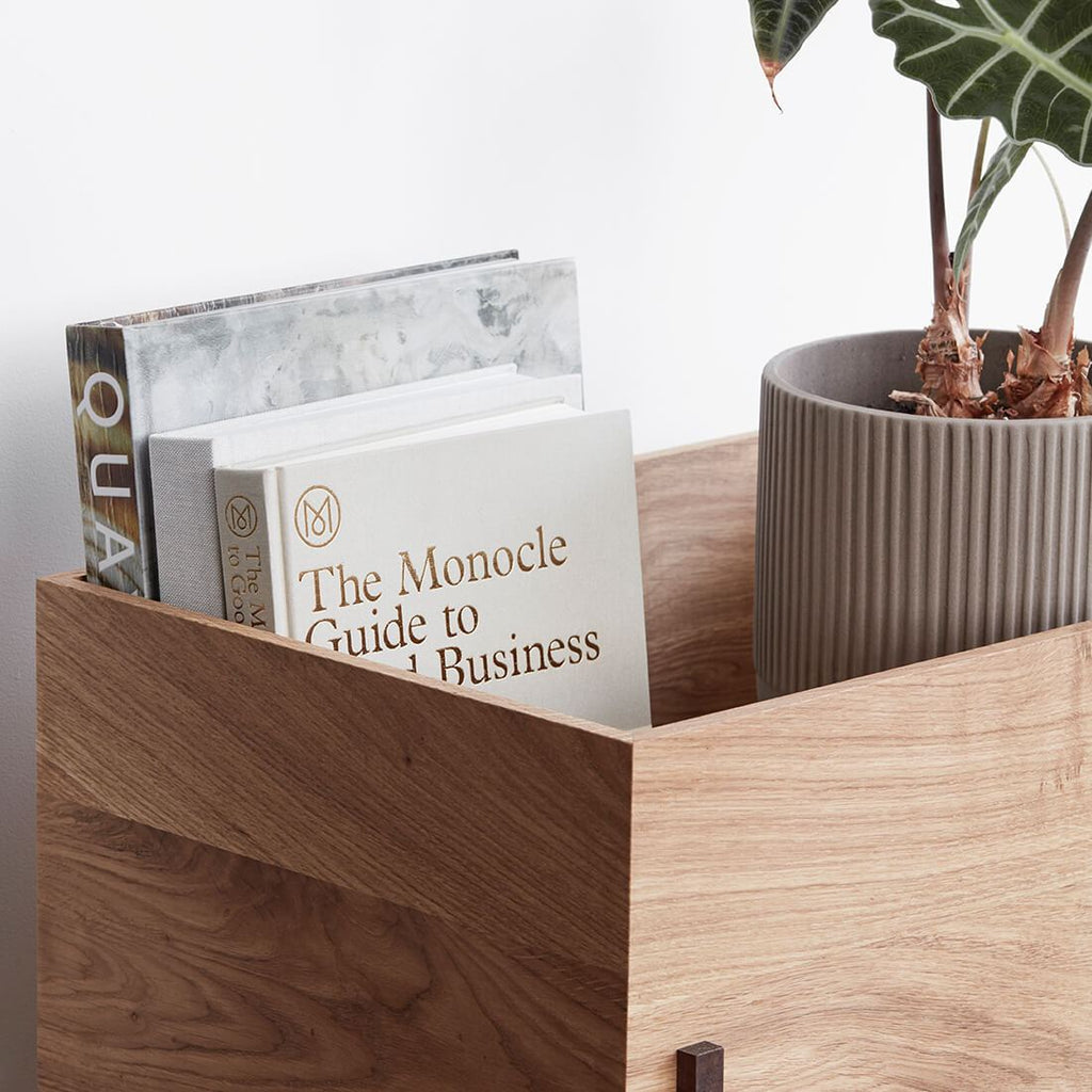 kristina dam studio storage box wood with lid
