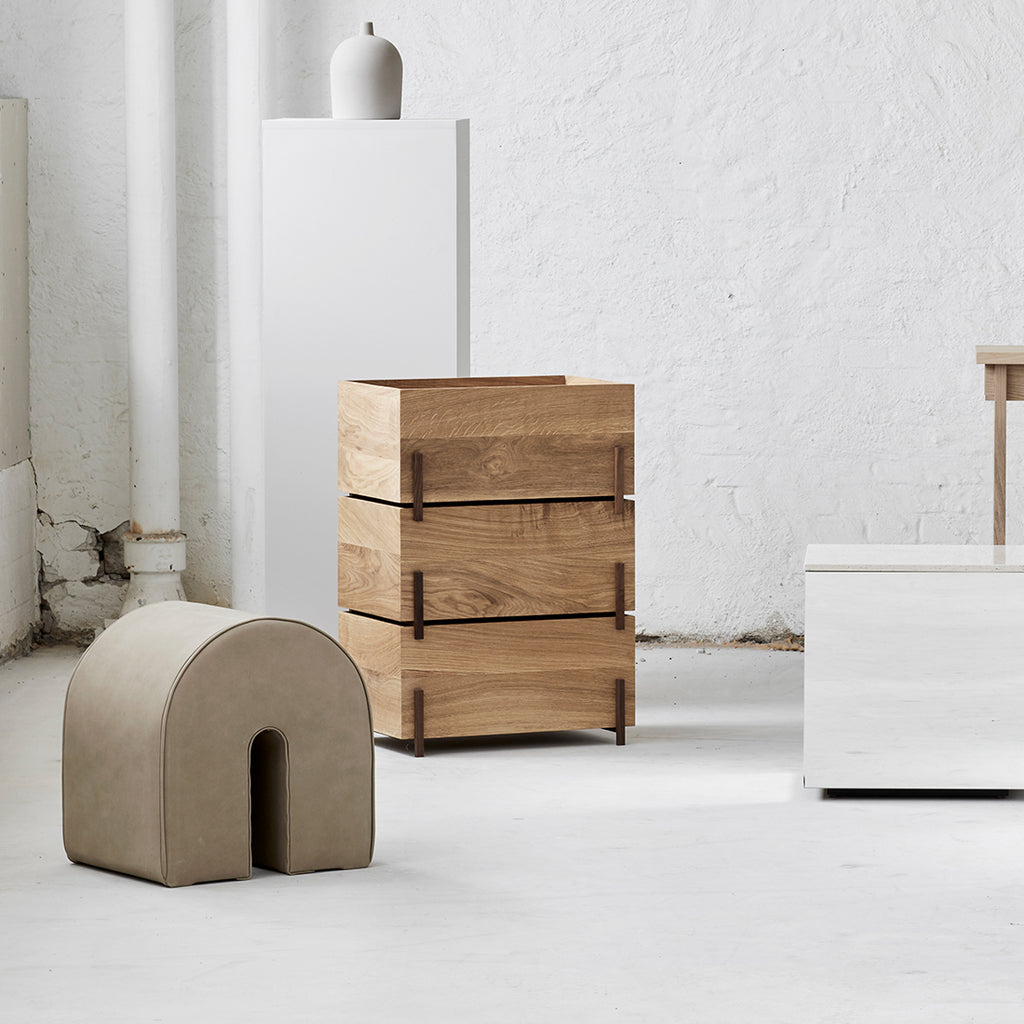 kristina dam studio set of 3 wood storage boxes shop online