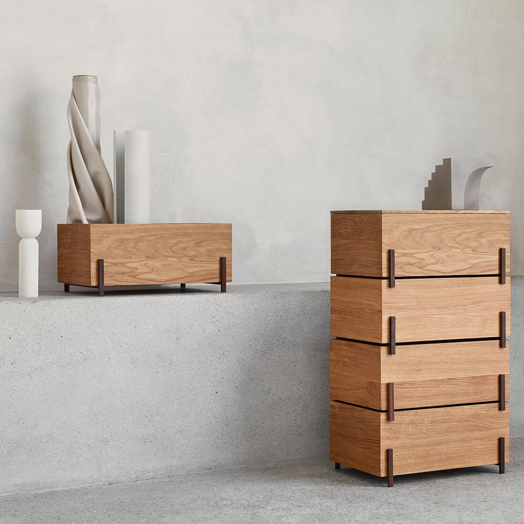 kristina dam studio stack storage box collection of wood storage boxes