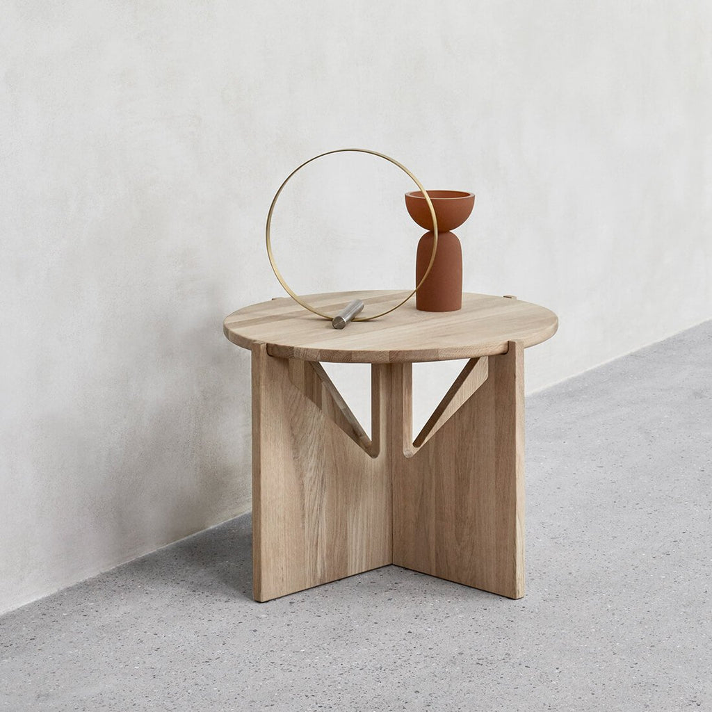 small oak coffee table danish design kristina dam studio