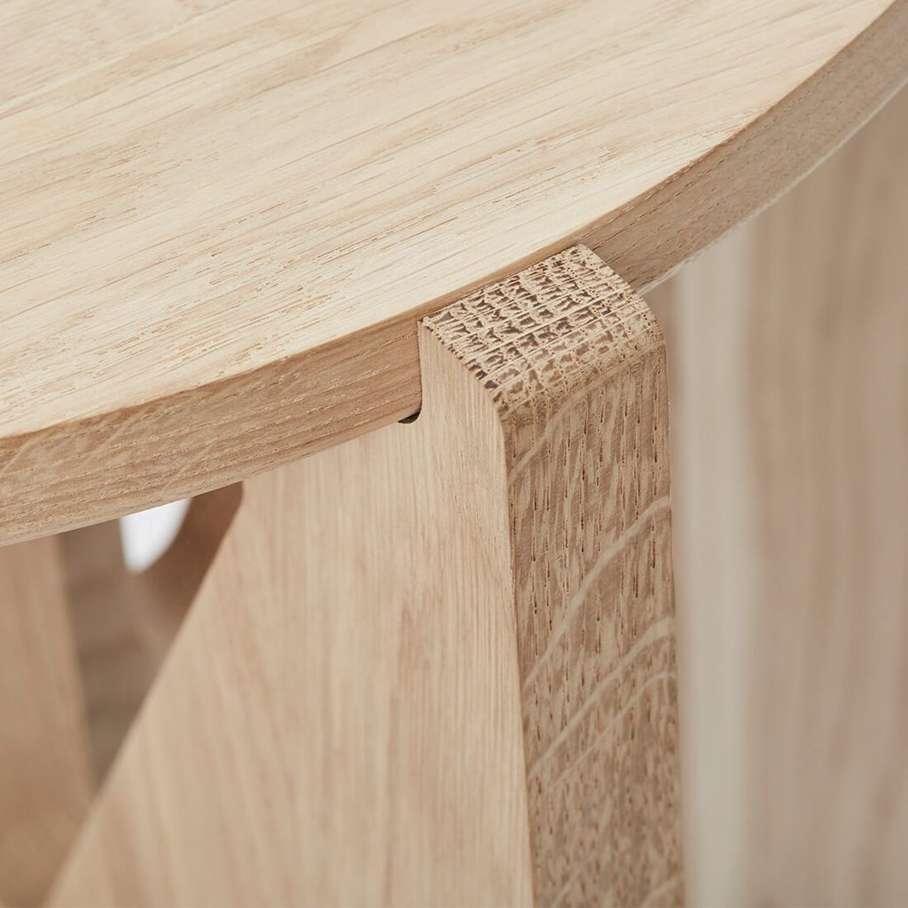 kristina dam studio danish design oak coffeetable