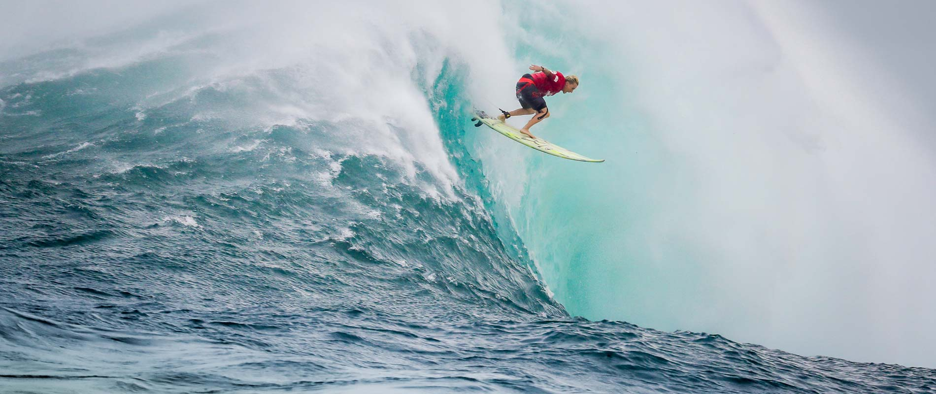 Keala Kennelly, Isurus Team Rider and Big Wave Surfer at Jaws