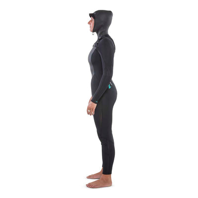 Ti Ember 5.4 Hooded Chest Zip Winter Womens Wetsuit