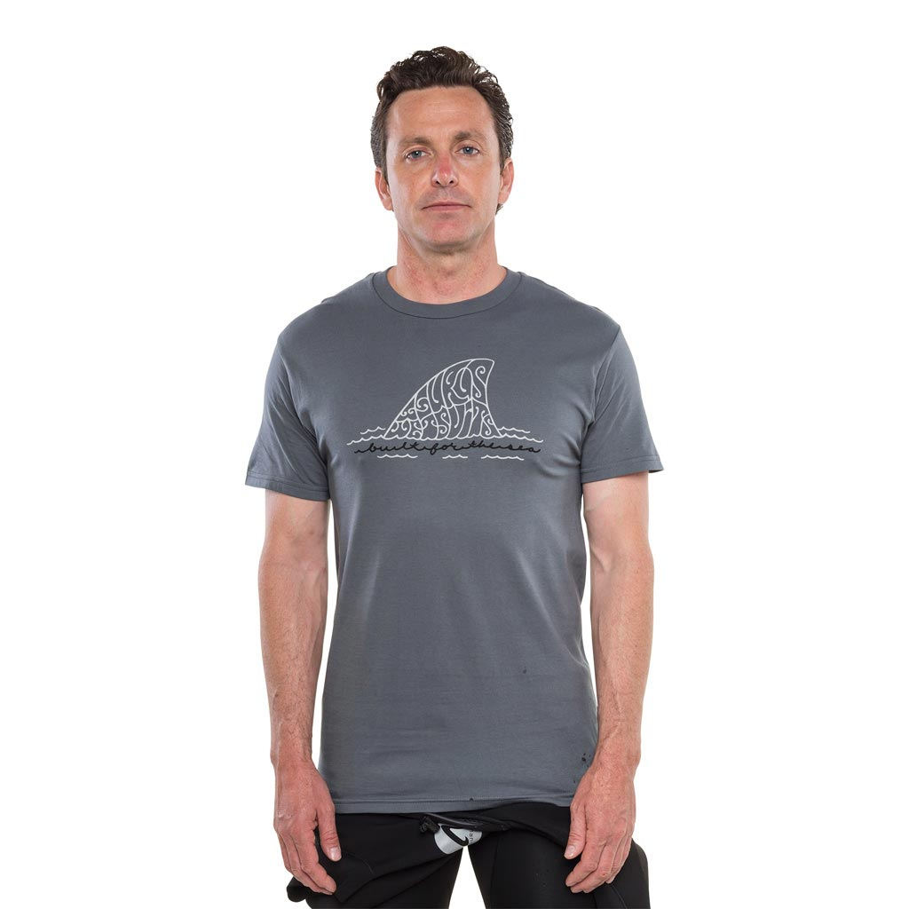 Isurus Built For The Sea T-Shirt - Charcoal