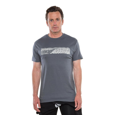 Isurus Go Ride A Wave T-Shirt - Charcoal