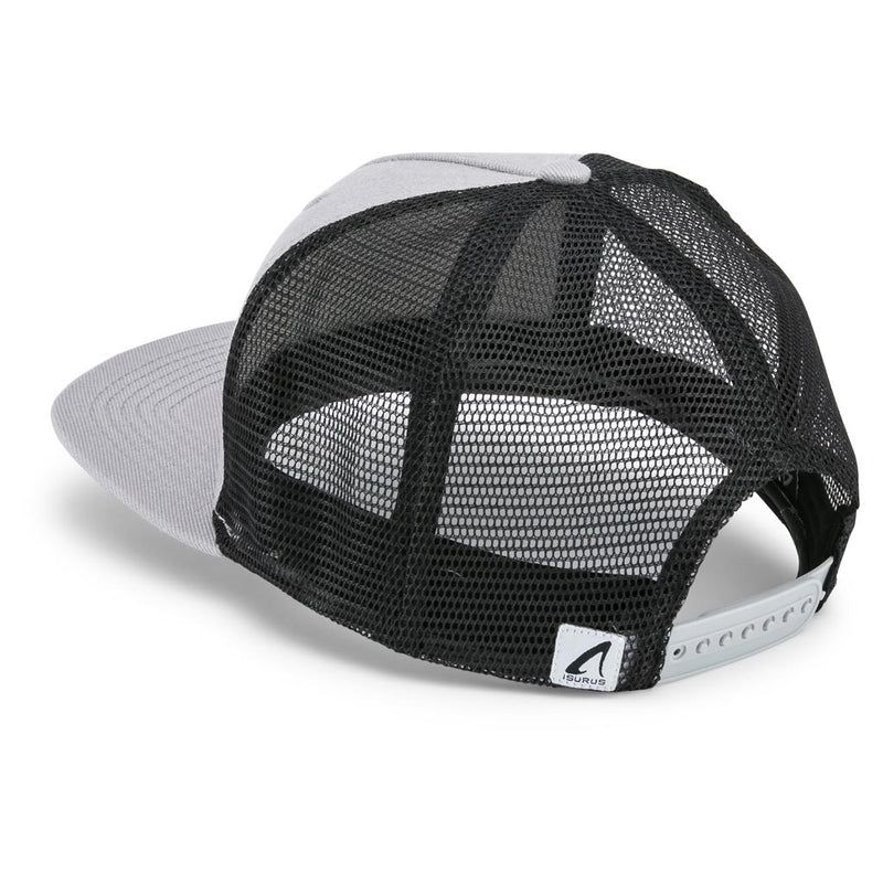 Isurus 5 Panel Snapback Trucker Cap - Grey