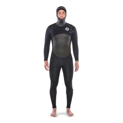 Ti Alpha 5.4 Hooded Chest Zip Winter Wetsuit