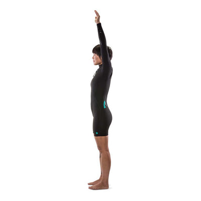 Ember 2.2 Long Sleeve Spring Chest Zip Womens Wetsuit