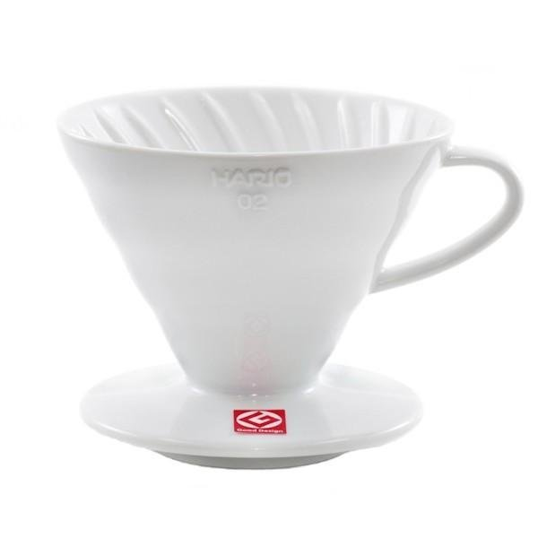 Hario V60 Pour-Over Coffee Dripper - 2 cup
