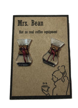 Load image into Gallery viewer, Coffee earrings