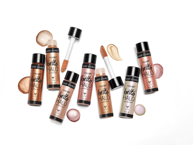 Wet n Wild - MegaGlo Hello Halo Liquid Highlighter Halo Goodbye - Divaful Beauty - cruelty free makeup beauty - vegan beauty - vegan skincare - vegan makeup - Australian beauty - australian skincare