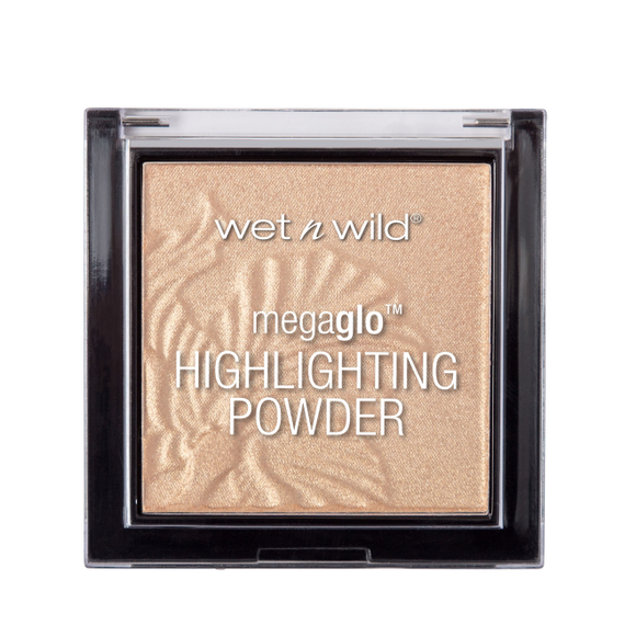 Wet n Wild MegaGlo Highlighting Powder Golden Flower Crown - Divaful Beauty - cruelty free makeup beauty - vegan beauty - vegan skincare - vegan makeup - Australian beauty - australian skincare