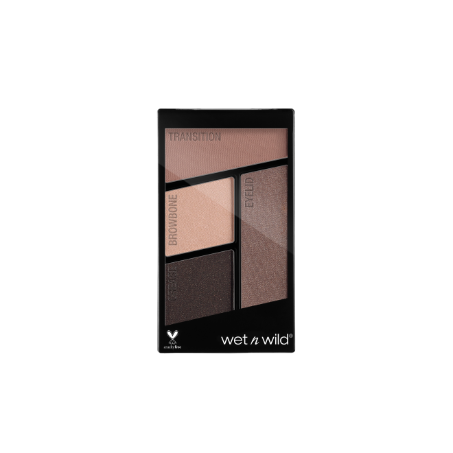 Wet n Wild - Color Icon Eyeshadow Quad Silent Treatment - Divaful Beauty - cruelty free makeup beauty - vegan beauty - vegan skincare - vegan makeup - Australian beauty - australian skincare