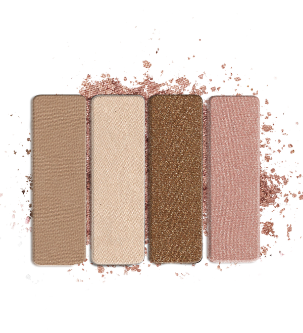 Wet n Wild - Color Icon Eyeshadow Quad Walking On Eggshells - Divaful Beauty - cruelty free makeup beauty - vegan beauty - vegan skincare - vegan makeup - Australian beauty - australian skincare