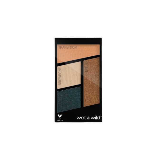 Wet n Wild - Color Icon Eyeshadow Quad Hooked on Vinyl - Divaful Beauty - cruelty free makeup beauty - vegan beauty - vegan skincare - vegan makeup - Australian beauty - australian skincare