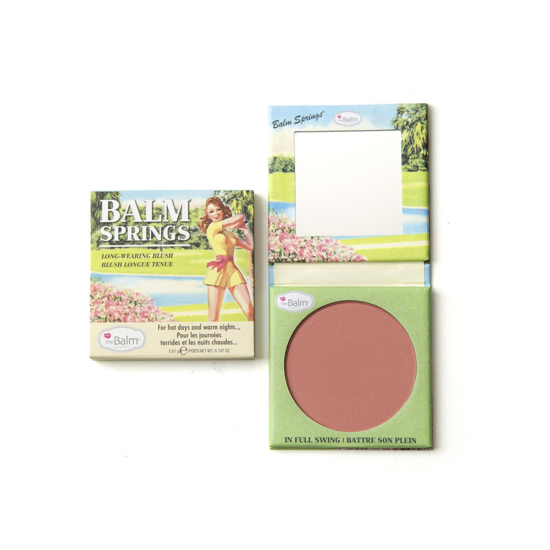 The Balm Cosmetics - Long Wearing Blush - Balm Springs - Divaful Beauty - cruelty free makeup beauty - vegan beauty - vegan skincare - vegan makeup - Australian beauty - australian skincare