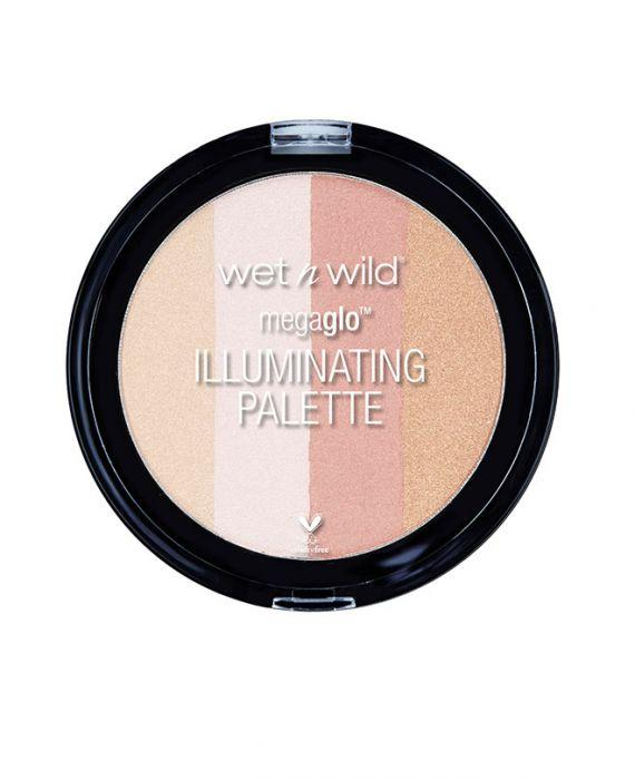 Wet n Wild - MegaGlo Illuminating Palette Catwalk Pink - Divaful Beauty - cruelty free makeup beauty - vegan beauty - vegan skincare - vegan makeup - Australian beauty - australian skincare