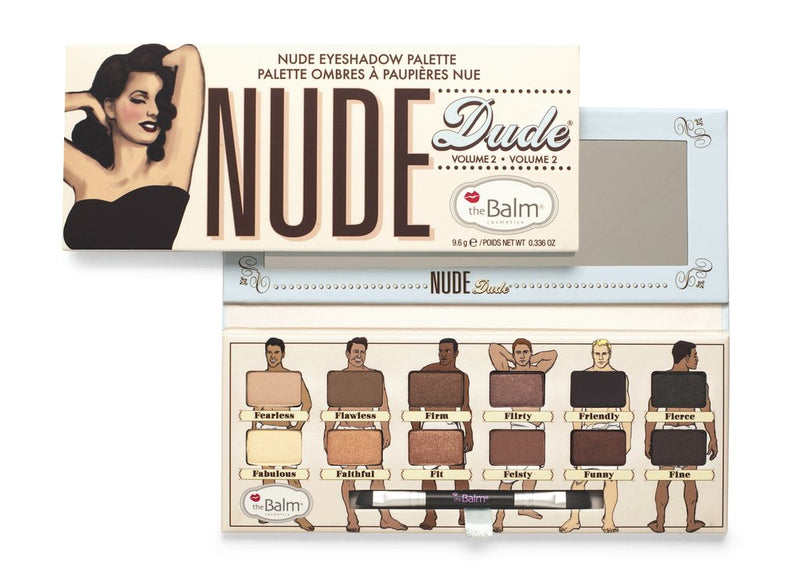 The Balm Cosmetics - Nude dude Palette - Divaful Beauty - cruelty free makeup beauty - vegan beauty - vegan skincare - vegan makeup - Australian beauty - australian skincare