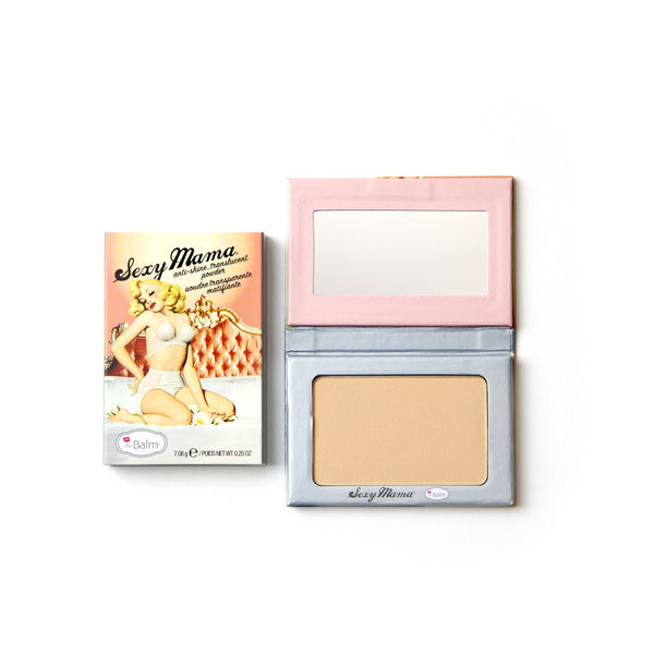 The Balm Cosmetics - Sexy Mama Translucent Anti Shine Powder - Divaful Beauty - cruelty free makeup beauty - vegan beauty - vegan skincare - vegan makeup - Australian beauty - australian skincare