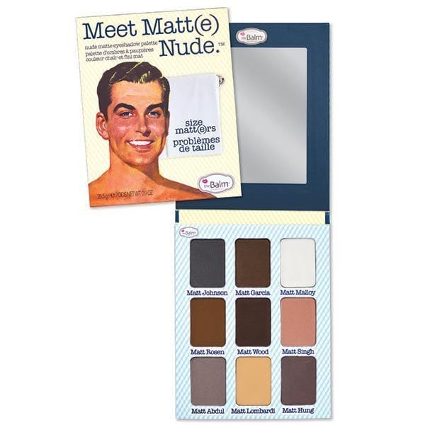The Balm Cosmetics - Meet Matt(e) Nude Palette - Divaful Beauty - cruelty free makeup beauty - vegan beauty - vegan skincare - vegan makeup - Australian beauty - australian skincare