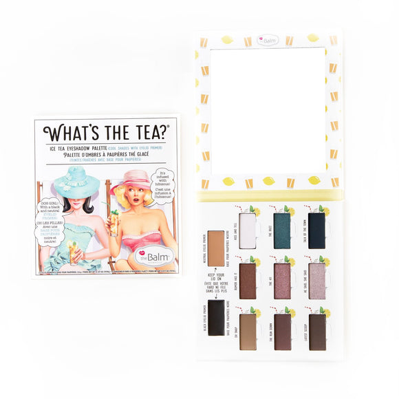 The Balm Cosmetics - Whats the Tea - Ice Tea Eyeshadow Palette - Divaful Beauty - cruelty free makeup beauty - vegan beauty - vegan skincare - vegan makeup - Australian beauty - australian skincare