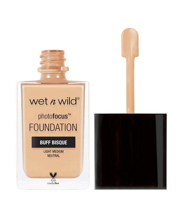 Wet n Wild - Photo Focus Foundation - Buff Bisque - Divaful Beauty - cruelty free makeup beauty - vegan beauty - vegan skincare - vegan makeup - Australian beauty - australian skincare