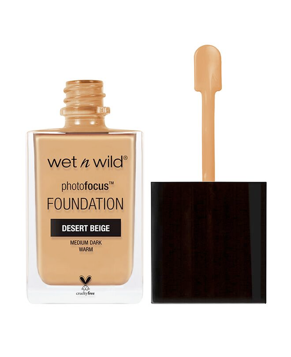 Wet n Wild - Photo Focus Foundation Desert Beige - Divaful Beauty - cruelty free makeup beauty - vegan beauty - vegan skincare - vegan makeup - Australian beauty - australian skincare