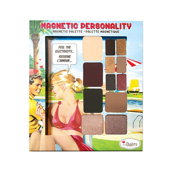 The Balm Cosmetics - Magnetic Palette - MAGNETIC PERSONALITY - Divaful Beauty - cruelty free makeup beauty - vegan beauty - vegan skincare - vegan makeup - Australian beauty - australian skincare