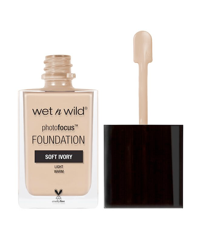Wet n Wild - Photo Focus Foundation Soft Ivory - Divaful Beauty - cruelty free makeup beauty - vegan beauty - vegan skincare - vegan makeup - Australian beauty - australian skincare