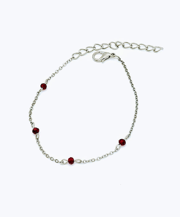 Dainty Red gems