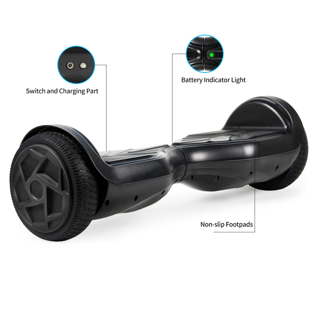 SISIGAD Hoverboard with LED Light and Bluetooth(3 colors)-US - SISIGAD