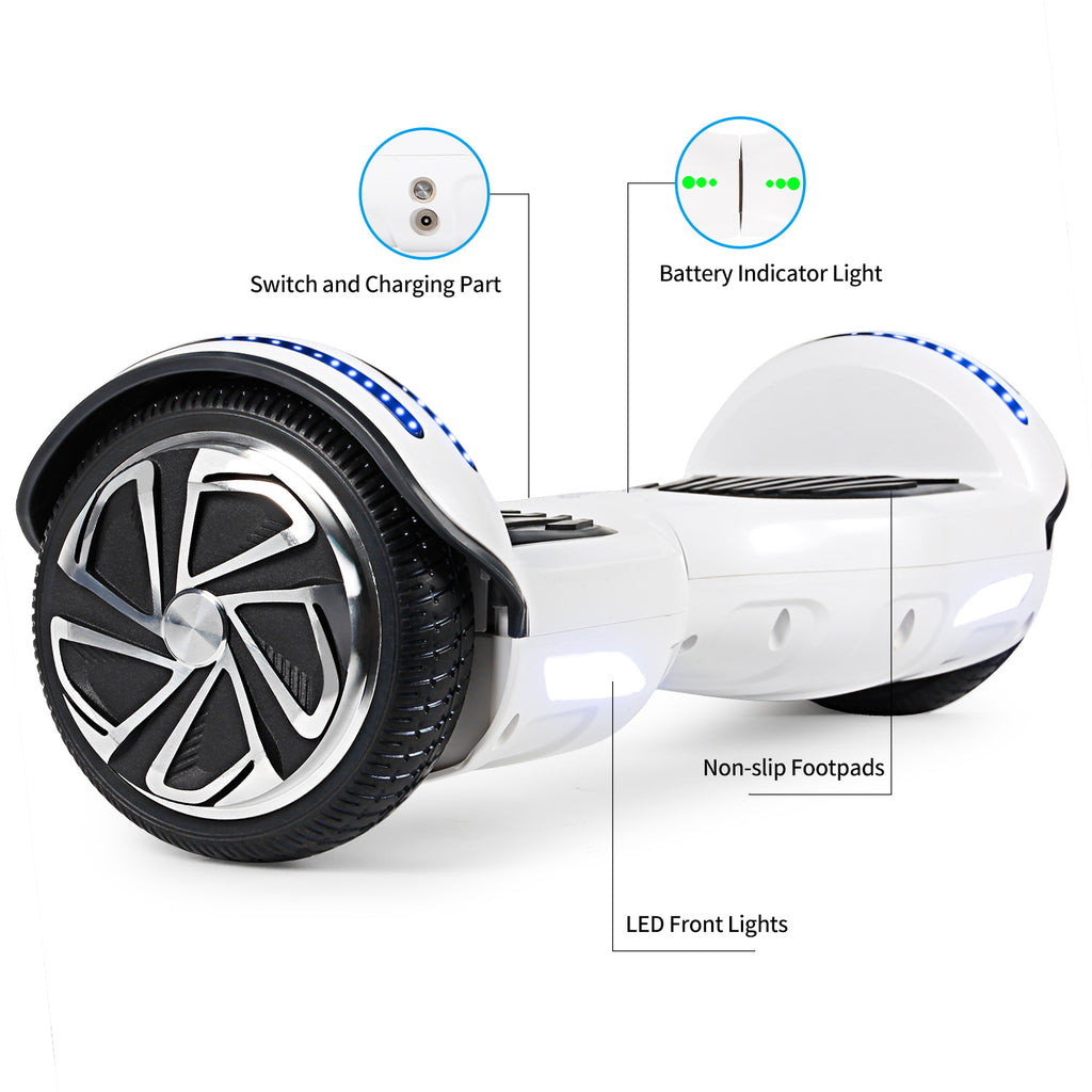 SISIGAD Hoverboardwith Bluetooth Speaker (Paint / 4 colors) -EU - SISIGAD