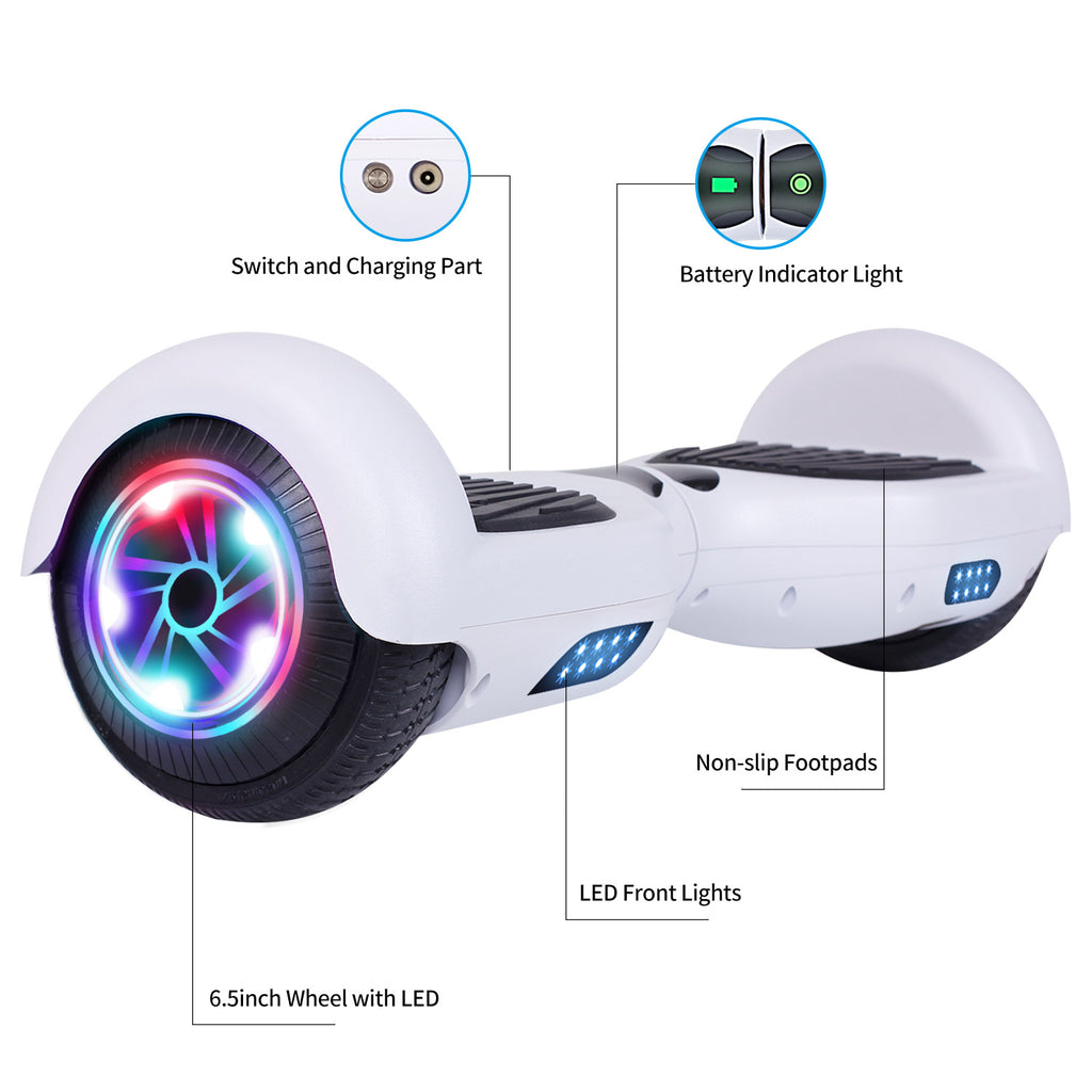 "SISIGAD 6.5"" Hoverboard/No Bluetooth(Classic/4colors)-EU - SISIGAD"