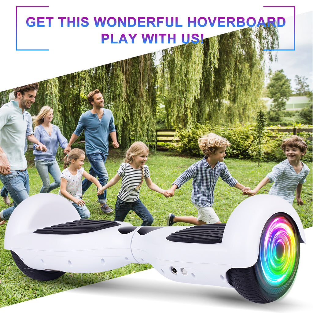 "SISIGAD 6.5"" Hoverboard/No Bluetooth  (Classic / 6 colors) - SISIGAD"