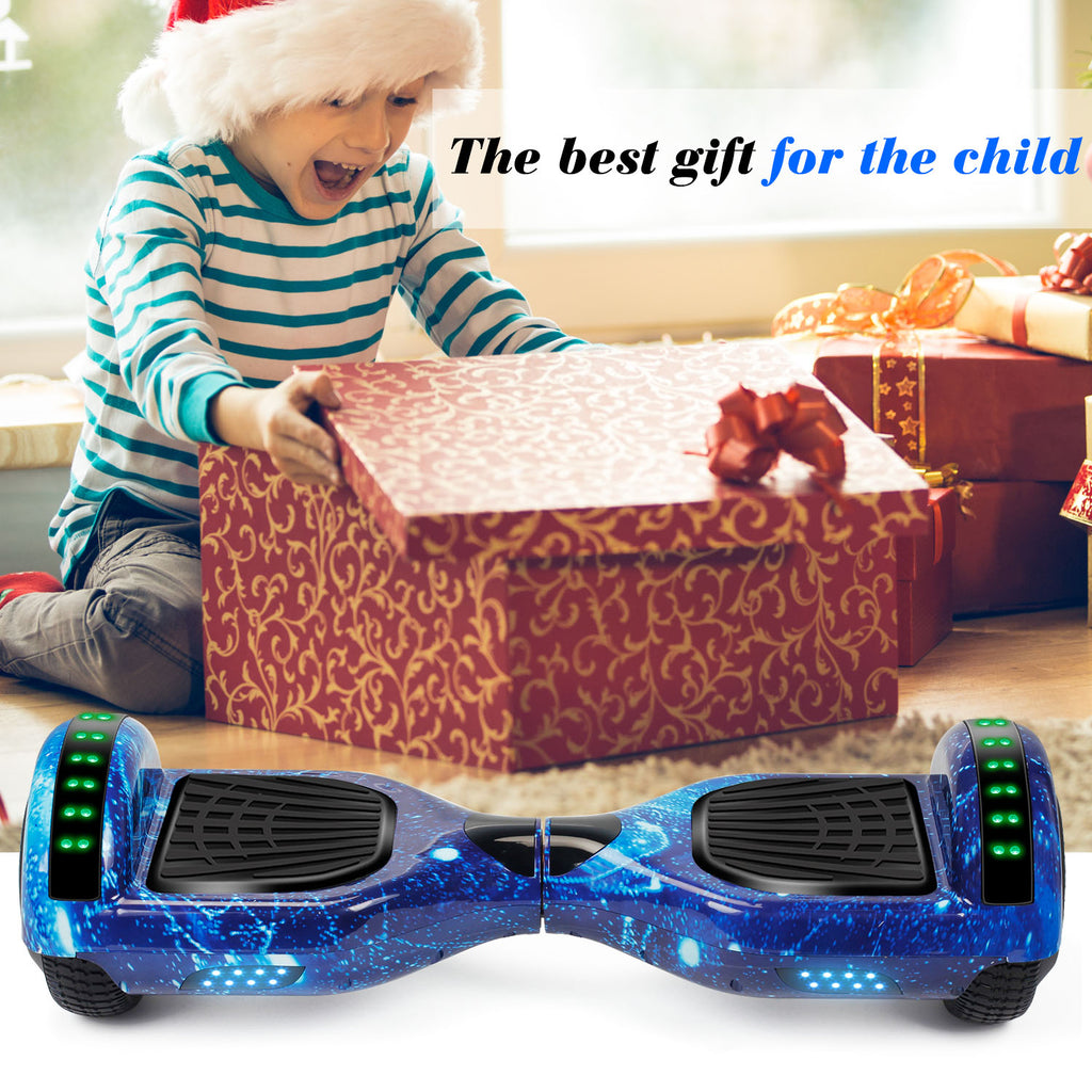 "SISIGAD 6.5"" Hoverboard with Bluetooth(Starry Night Sky / 2 Colors) - SISIGAD"