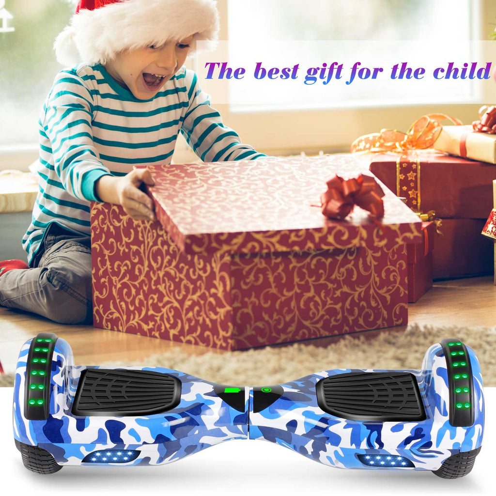 "SISIGAD 6.5"" Hoverboard(Camo Blue/Pink/Green ) - SISIGAD"