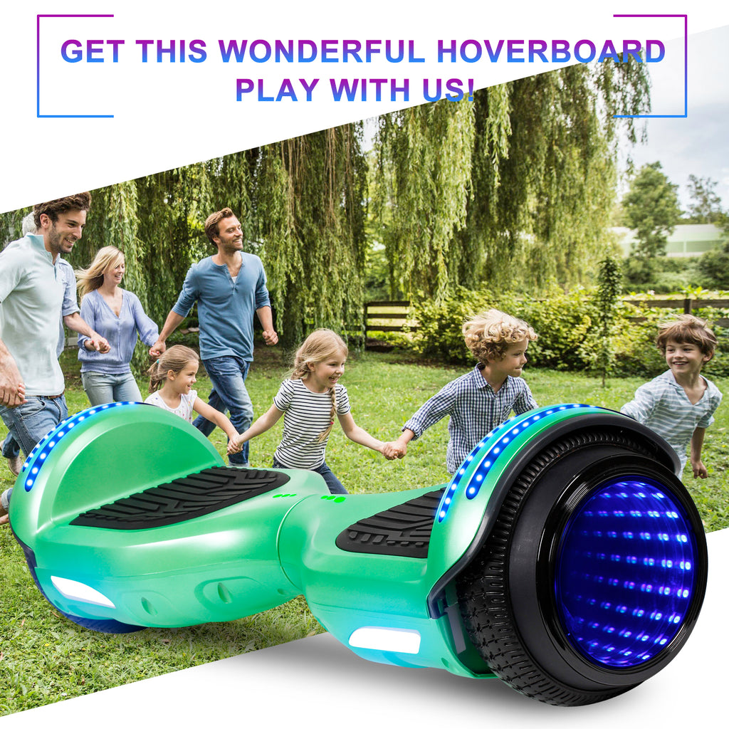 SISIGAD Hoverboardwith Bluetooth Speaker (Paint / 4 colors) - SISIGAD