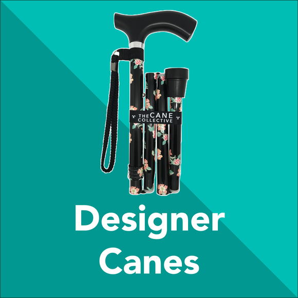 Designer Foldable Walking Canes