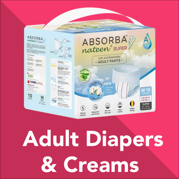 Adult Diapers & Creams