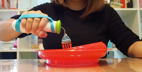 Adaptive Utensils and Scoop Dish (Eating Aids)