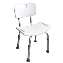 HappyBath Shower Chair with Backrest