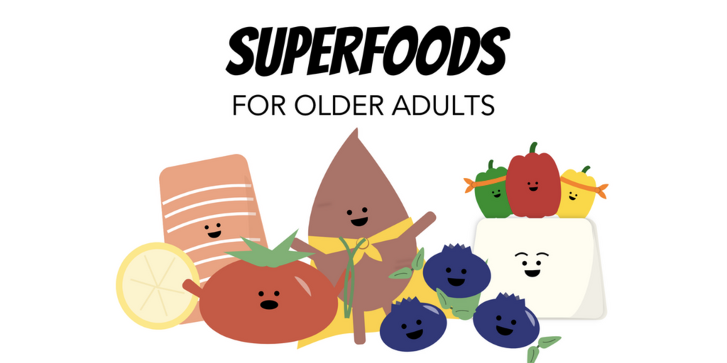 Healthy Eating for Older Adults Superfood Food that is Good for You Elderly
