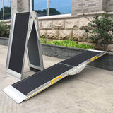 Aluminium 4-Way Suitcase Ramp