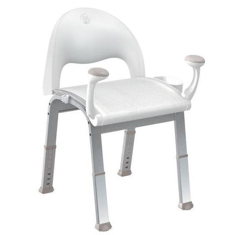 Bath Safety Premium Glacier Shower Chair